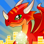 IDLE DRAGON WORLD:FUN GAME (MOD, Unlimited Money) 1.0.1