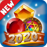 Jewels Magic Kingdom: Match-3 puzzle (MOD, Unlimited Money) 1.5.15
