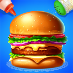 🍔🍔Make Hamburger – Yummy Kitchen Cooking Game  (MOD, Unlimited Money) 5.2.5052