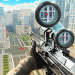 New Sniper Shooter: Free offline 3D shooting games (MOD, Unlimited Money) 1.84