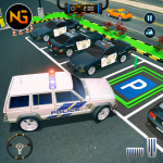 Police Car Parking: Police Jeep Driving Games (MOD, Unlimited Money) 1.1.3