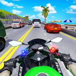 Police Moto Bike Highway Rider Traffic Racing Game (MOD, Unlimited Money) 69