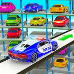 Police Multi Level Car Parking Games: Cop Car Game (Premium Cracked) 2.0.3