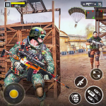 Real Commando Shooter: FPS Shooting Games Free (MOD, Unlimited Money) 1.28