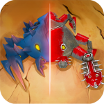 Spore Monsters.io 3D Wasteland Nomads Crab Turmoil (MOD, Unlimited Money) 1.6