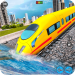 Underwater Bullet Train Simulator : Train Games  (MOD, Unlimited Money) 3.5.0