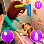 Virtual Mother Game: Family Mom Simulator   (MOD, Unlimited Money) 1.34