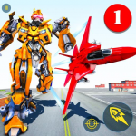 Air Robot Game – Flying Robot Transforming Plane (MOD, Unlimited Money) 2.2