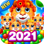 Bubble Shooter 2 Tiger  (MOD, Unlimited Money) 1.0.55