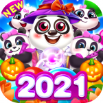 Bubble Shooter Cooking Panda (MOD, Unlimited Money) 1.3.12