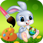 Easter bunny egg coloring book (MOD, Unlimited Money) 1.06