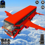 Flying Bus Driving simulator 2019: Free Bus Games (MOD, Unlimited Money) 3.0