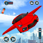 Flying Car Games 2020- Drive Robot Shooting Cars (MOD, Unlimited Money) 1.0