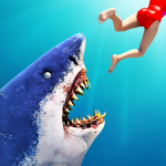 Hungry Shark Attack Simulator: New Hunting Game (MOD, Unlimited Money) 30.8