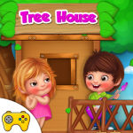 Kids Tree House Games (MOD, Unlimited Money) 1.0.3