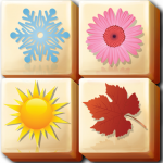 Mahjong Garden Four Seasons – Free Tile Game (MOD, Unlimited Money) 1.0.84
