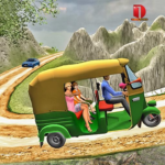 Mountain Auto Tuk Tuk Rickshaw : New Games 2020 (MOD, Unlimited Money) 2.0.20