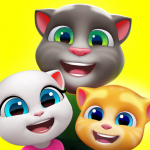 My Talking Tom Friends  (MOD, Unlimited Money) 1.6.5.33