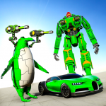 Penguin Robot Car Game: Robot Transforming Games (MOD, Unlimited Money) 4