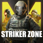 Striker Zone Mobile: Online Shooting Games (MOD, Unlimited Money) 3.23.0.2