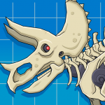 Triceratops Dinosaur Fossil Robot Age (MOD, Unlimited Money) 2.5