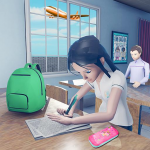 Virtual High School Girl Game- School Simulator 3D (MOD, Unlimited Money) 1.0.0