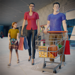 Virtual Mother Supermarket – Shopping Mall Games (MOD, Unlimited Money) 1.0.1