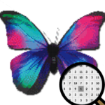 Butterfly Color By Number-Animal Pixel Art 2021 (MOD, Unlimited Money) 6.0