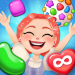 Candy Go Round – #1 Free Candy Puzzle Match 3 Game (MOD, Unlimited Money) 1.4.1