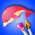 Coloring Book for Kids: Animal (MOD, Unlimited Money) 2.1.2