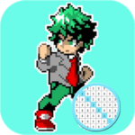 Coloring Hero Academia By Number – Anime Color Art (MOD, Unlimited Money) 48.0