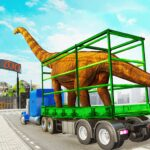 Dino Transport Truck Games: Dinosaur Game (MOD, Unlimited Money) 1.7