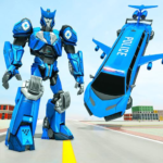 Flying Limo Robot Car Transform: Police Robot Game (MOD, Unlimited Money) 1.0.18
