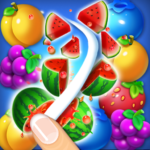 Fruits Crush Link Puzzle Game   (MOD, Unlimited Money) 1.0040