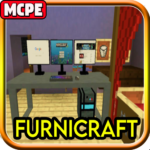 Furnicraft Mod for Minecraft PE (MOD, Unlimited Money) 9.1