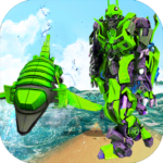 Futuristic Robot Dolphin City Battle – Robot Game (MOD, Unlimited Money) 1.5