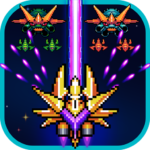 Galaxiga: Classic Galaga 80s Arcade – Free Games (MOD, Unlimited Money) 18.4