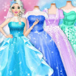 Ice Princess Wedding Dress Up Stylist (MOD, Unlimited Money) 0.12