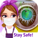 Messy House Cleanup Girls Home Cleaning Activities (MOD, Unlimited Money)7.0.4