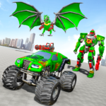 Monster Truck Robot Wars – New Dragon Robot Game   (MOD, Unlimited Money) 1.1.5