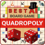 Quadropoly Best AI Board Business Trading Game  (MOD, Unlimited Money) 1.78.83
