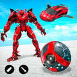 Red Ball Robot Car Transform: Flying Car Games (MOD, Unlimited Money) 1.3.8