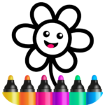 Toddler Drawing Academy🎓 Coloring Games for Kids (MOD, Unlimited Money)