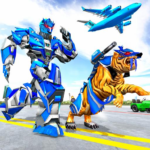 US Police Tiger Robot Game: Police Plane Transport (MOD, Unlimited Money) 1.1.9