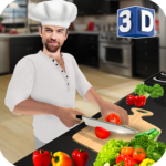 Virtual Chef Cooking Game 3D: Super Chef Kitchen (MOD, Unlimited Money) 2.4.3