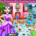Winter Princess Big House Cleaning- Home Cleaning (MOD, Unlimited Money) 1.1