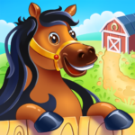 Animal Farm for Kids. Toddler games.  (MOD, Unlimited Money) 2.1.4