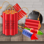 Bombs and Explosions Firecrackers crackers game (MOD, Unlimited Money) 72.0.0