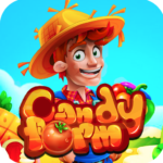Candy Farm : jewels Match 3 Puzzle Game (MOD, Unlimited Money) 2.0
