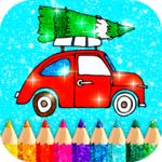 Christmas Coloring Game offline❄️🎄🎨 (MOD, Unlimited Money) 1.4